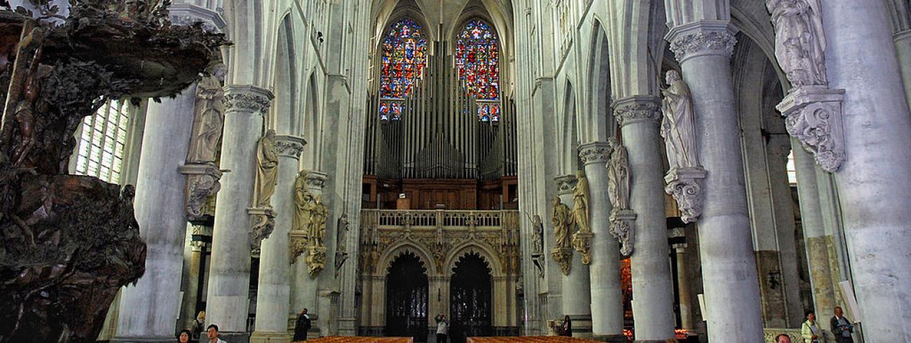 De Sint-Rombouthskathedraal in Mechelen © Paul Hermans/Wikipedia