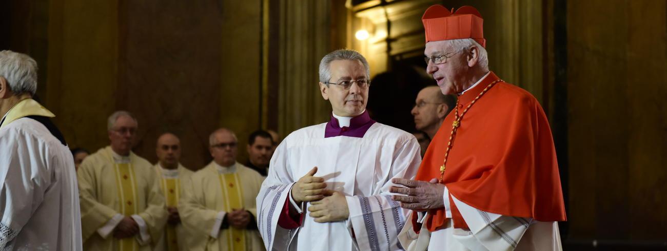Kardinaal Jozef De Kesel neemt officieel bezit van zijn titelkerk in Rome, de Sint-Johannes en Sint-Paulusbasiliek