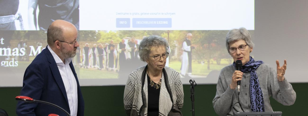 Dominiek Lootens, Christine Bochen, Bonnie Thurston © Frederik Hulstaert, UCSIA