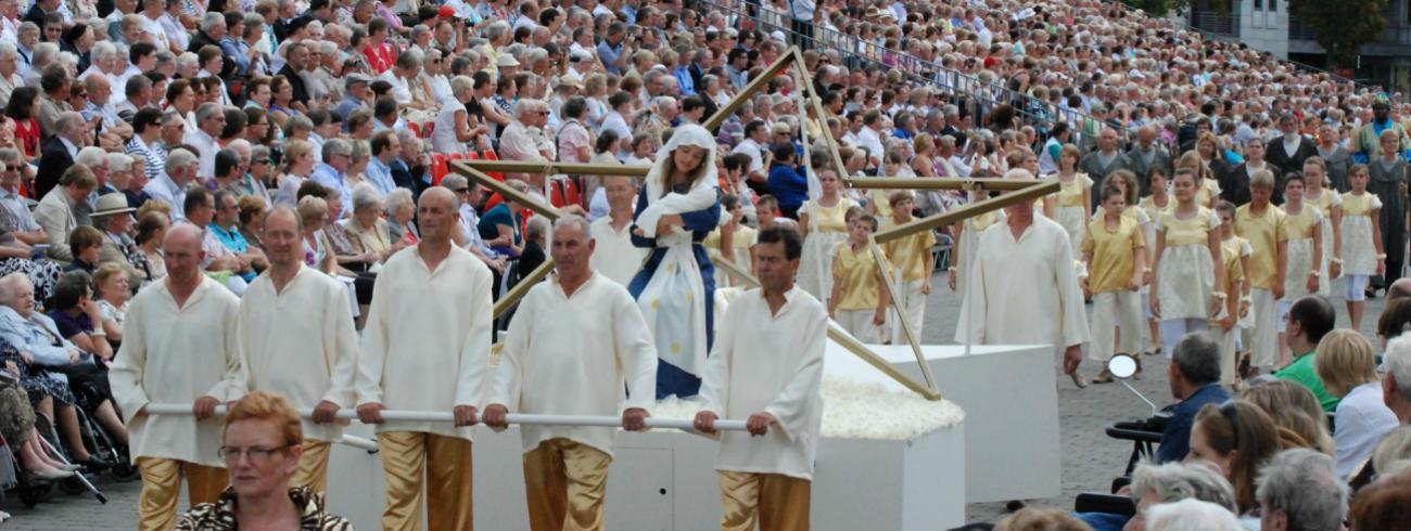 De Virga Jessefeesten in Hasselt vonden plaats van 6 tot en met 20 augustus.  © Virga Jessecomité