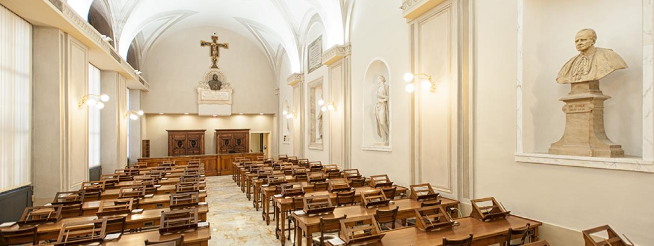 De manuscriptzaal van de Vaticaanse Bibliotheek © Vatican Media