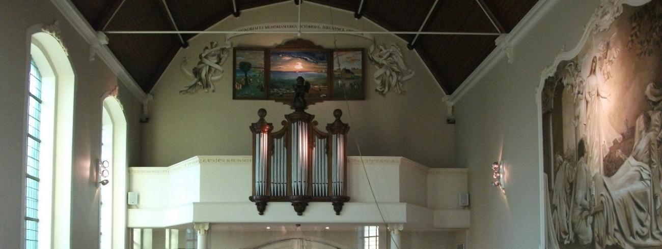 doksaal kapel Onze Lieve Vrouw ter Hulpe anno 2020