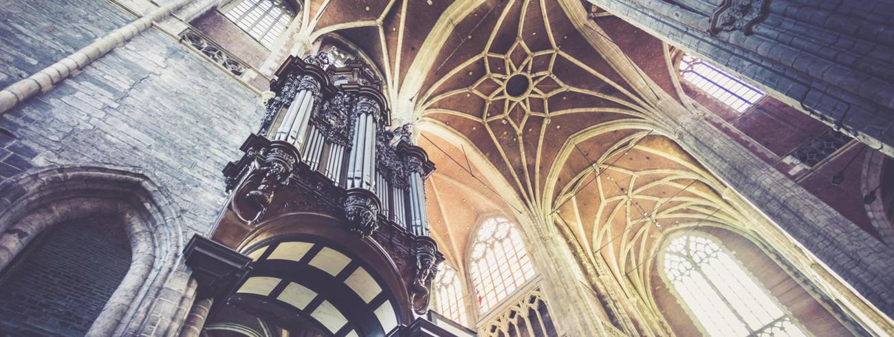 Sint-Baafskathedraal Gent, orgel © Lukas-Art in Flanders, foto: Daina De Saedeleer