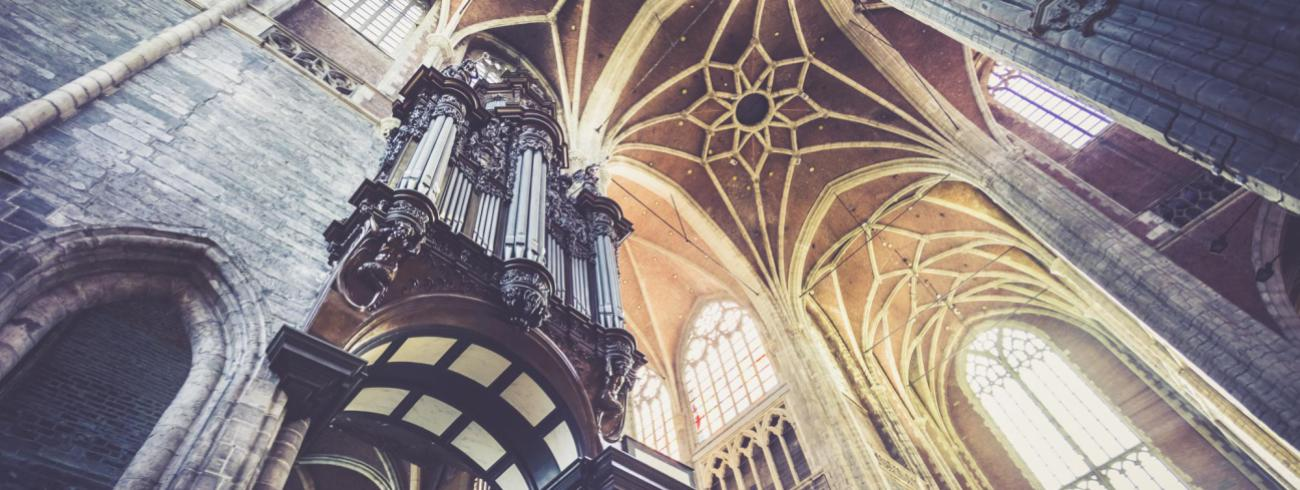 Orgel Sint-Baafskathedraal © Bisdom Gent, foto: Daina De Saedeleer