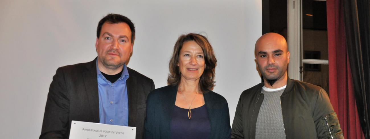 De nieuwe vredesambassadeurs © Anne Vansteelandt/PCV