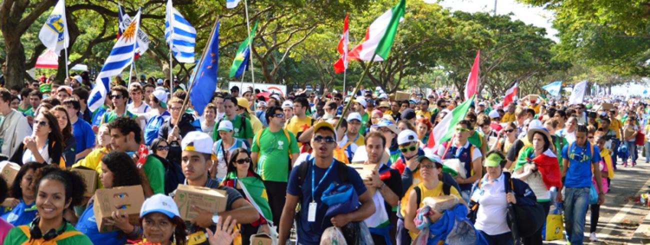 WYD Rio in 2013 © WYD Rio