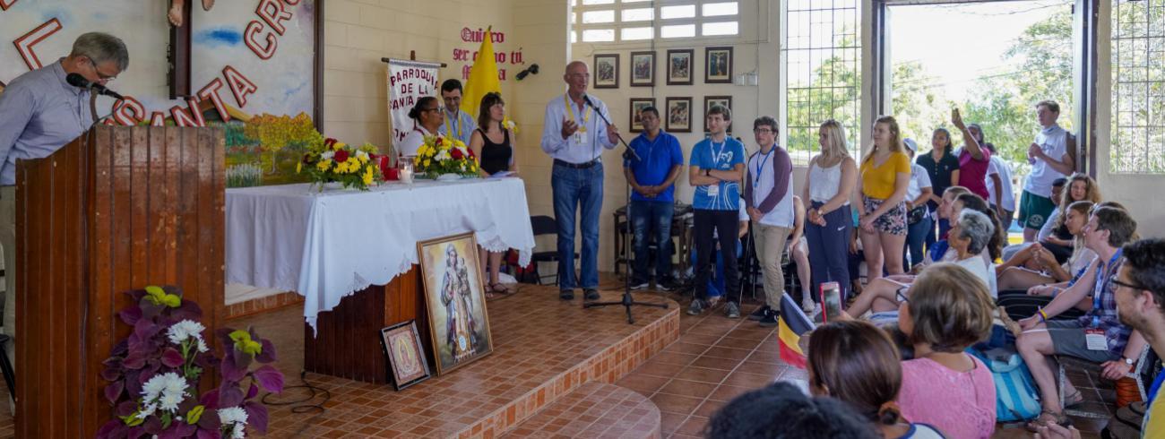 Wereldjongerendagen Panama 2019 Gastparochie Chilibre © Koen Van Den Bossche