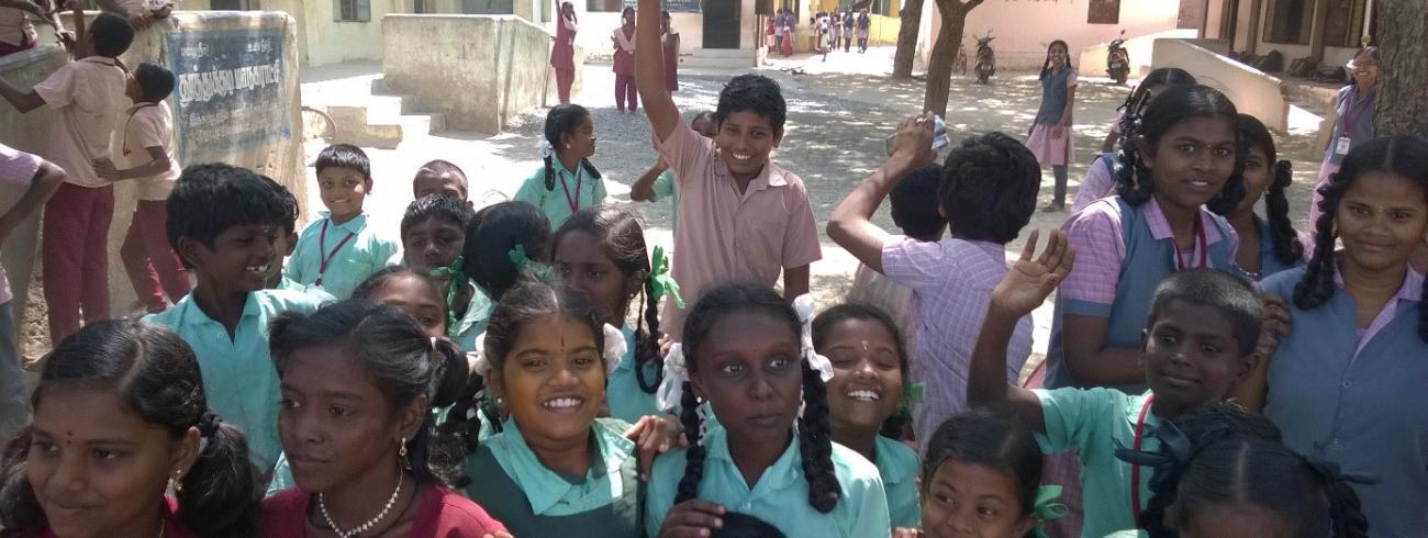 Inleefreis India © Nele Castelein Katholieke Hogeschool Vives