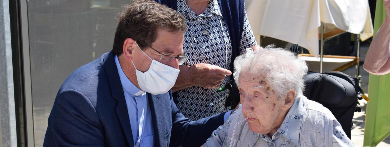 Zuster Genoveva 110 jaar © Michiel Van Mulders