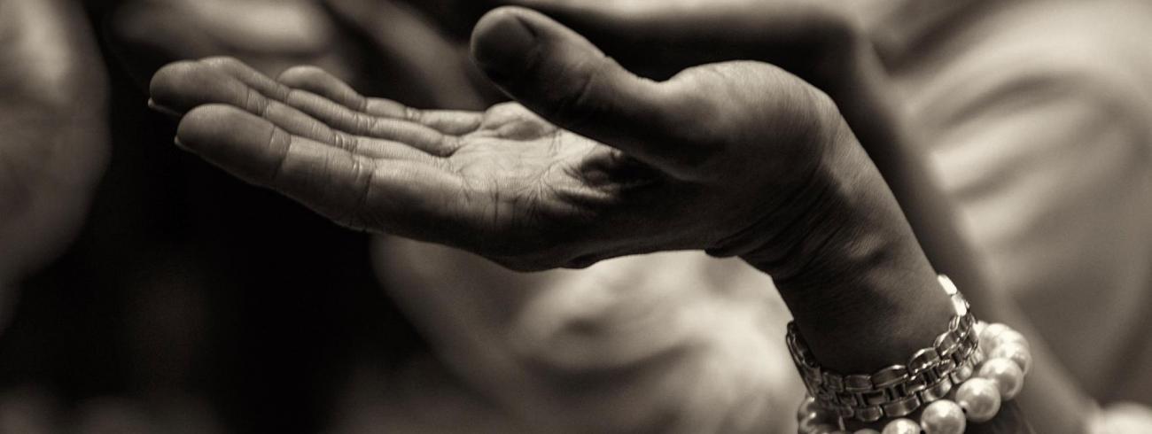zegening handen