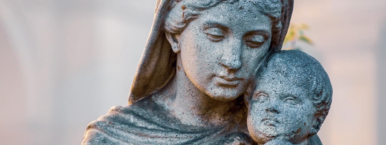 Maria en Jezus © Couleur via Pixabay