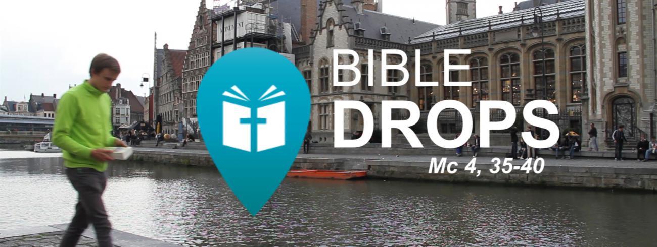 Bible Drops - Storm op het meer © IJD