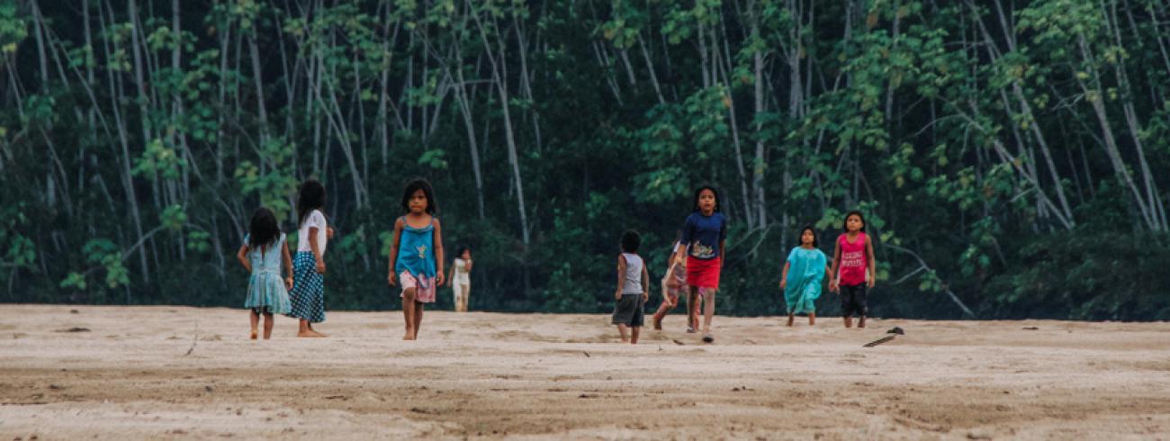 Het Amazonewoud, door de lens van jezuïet Johan Verschueren, die geregeld meehielp als rondtrekkend priester in de Amazoneparochie van de jezuïeten in Peru. © Johan Verschueren