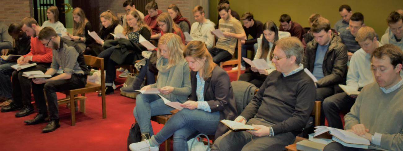 Aswoensdag - vesperdienst met studenten