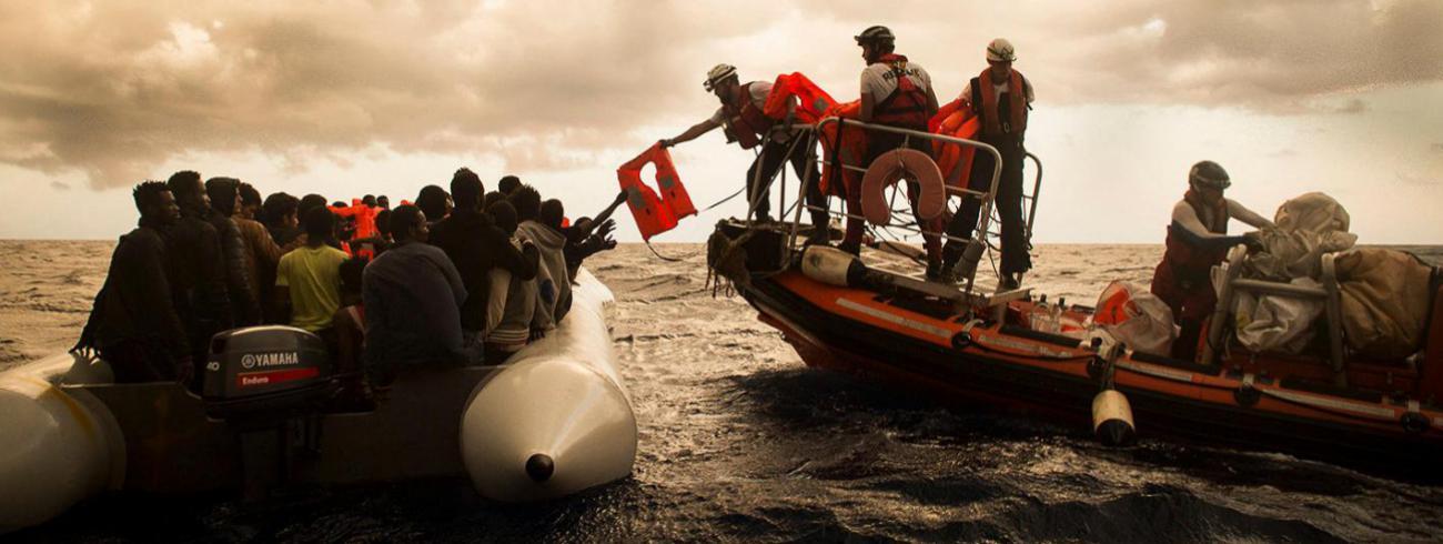 Vluchtelingen nemen steeds meer risico © Artsen Zonder Grenzen