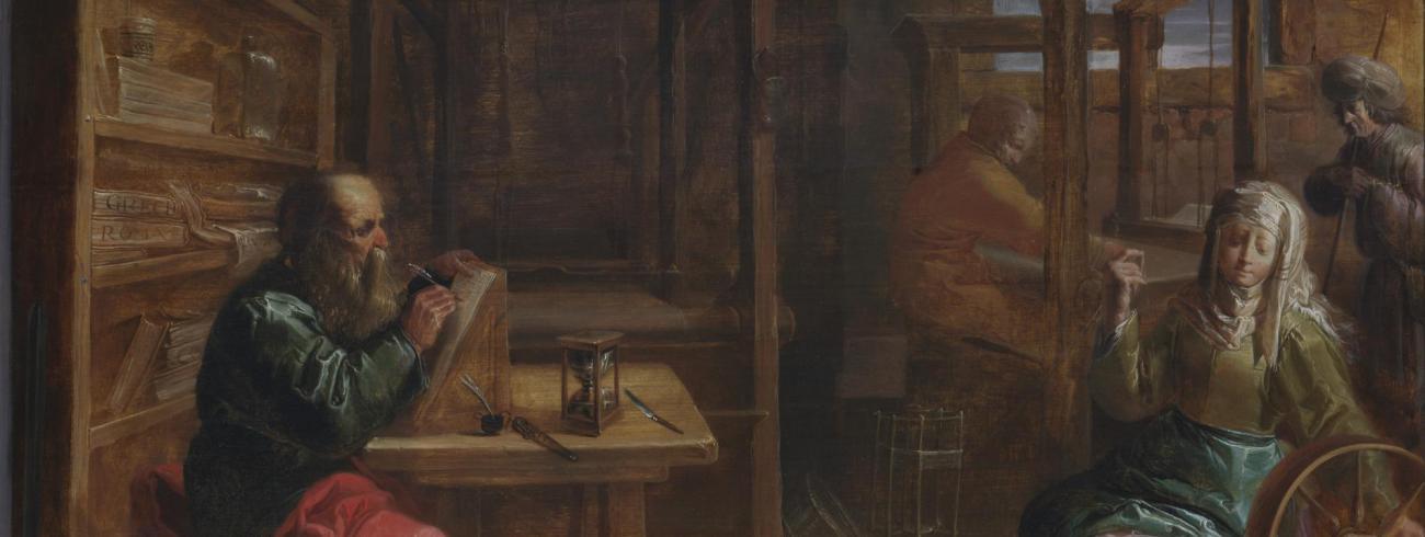 Sint-Paulus bij de heiligen Aquila en Priscilla © Museum Plantin Moretus, Antwerpen