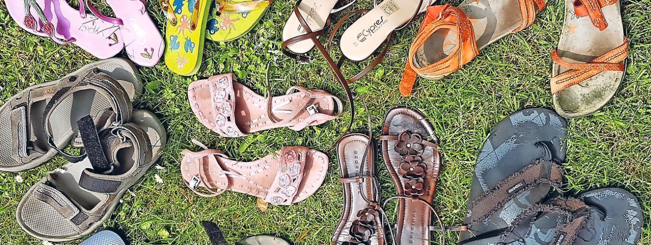 Sandalen © Ilse Van Halst