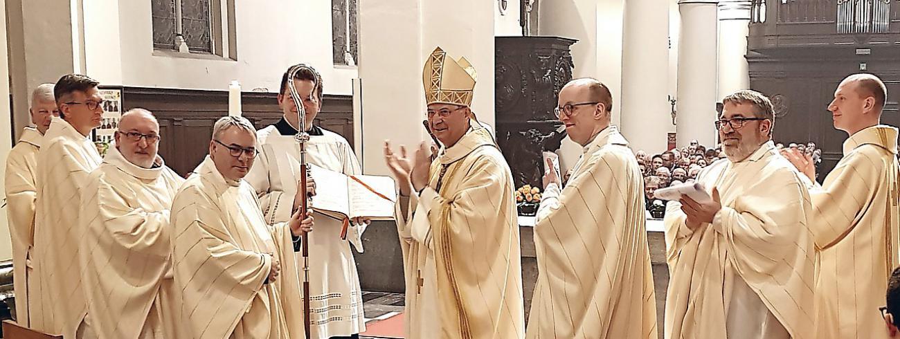 Viering 10 jaar bisschop in de Kempen © Louis Lambregts