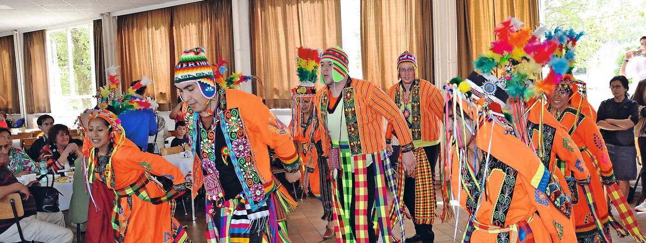 Boliviaanse dans © Thomas Goey