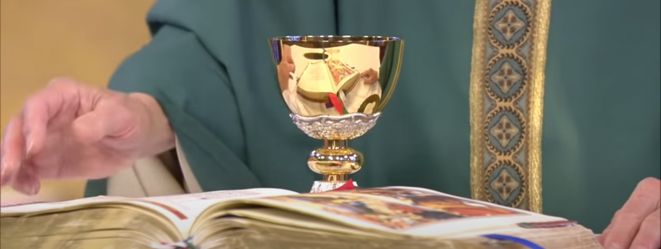 Online gestreamde eucharistieviering © Catholic Tv Network