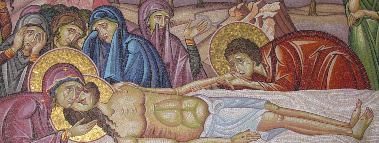 Graflegging van Jezus