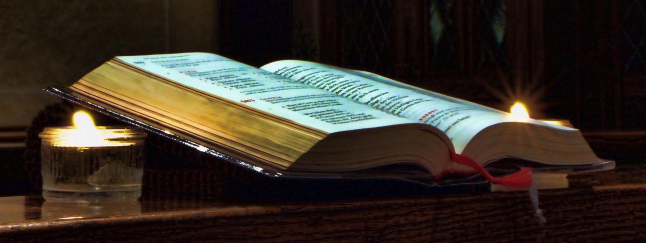 God laat zich kennen in zijn Woord