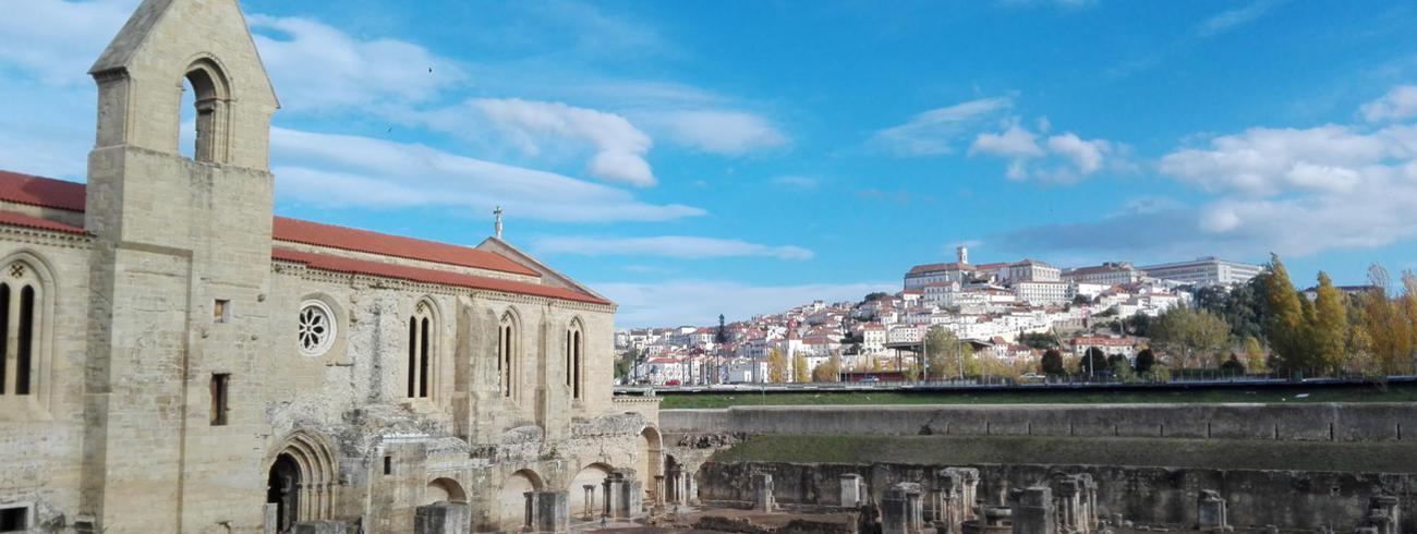 Oude abdij bij Coimbra © IJD-Jongerenpastoraal Vlaanderen