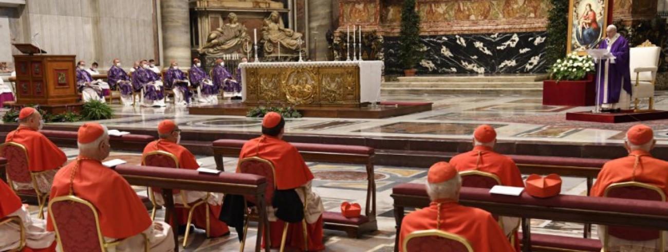 Eucharistie met de nieuwe kardinalen © Vatican Media