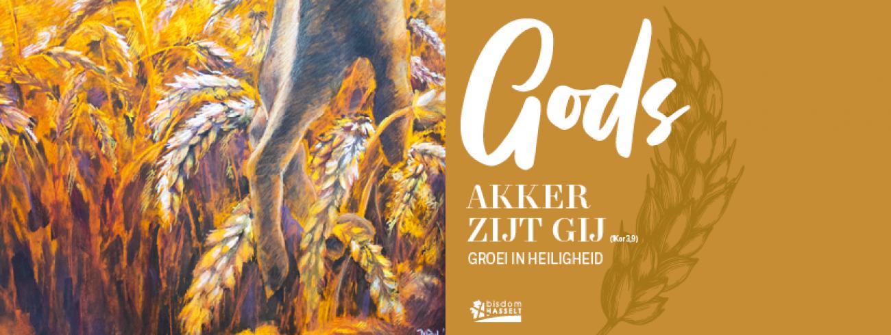 Gods akker zijt gij. Groei in heiligheid. © Bisdom Hasselt