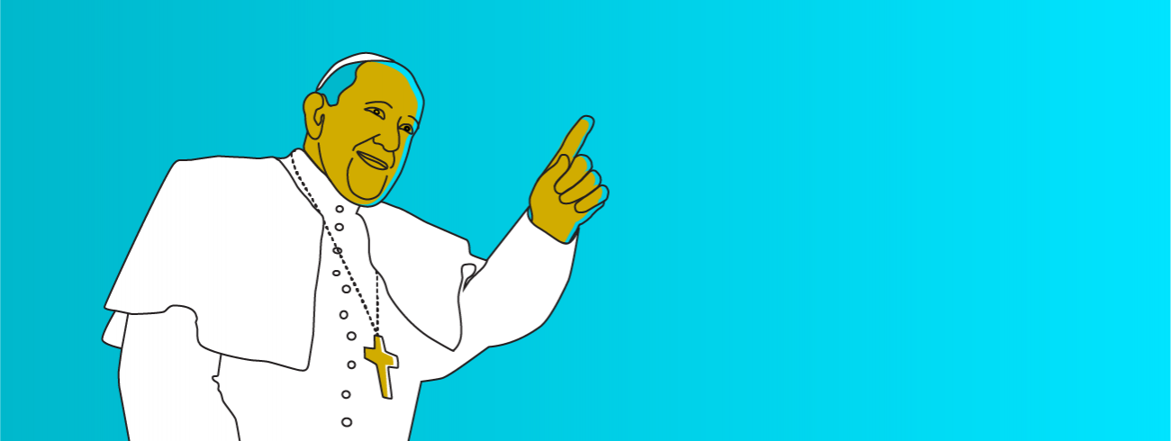 Dromen en veranderen met paus Franciscus ~ schrijf je gratis in © Sim D'Hertefelt
