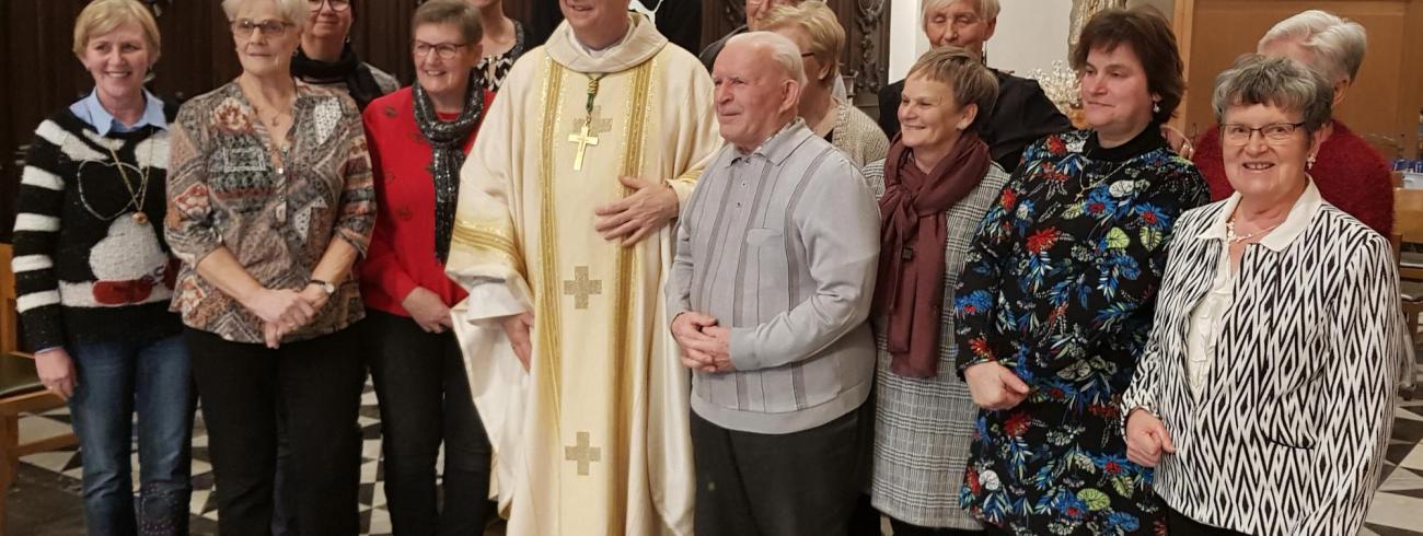 feestviering bisschop Johan Bonny