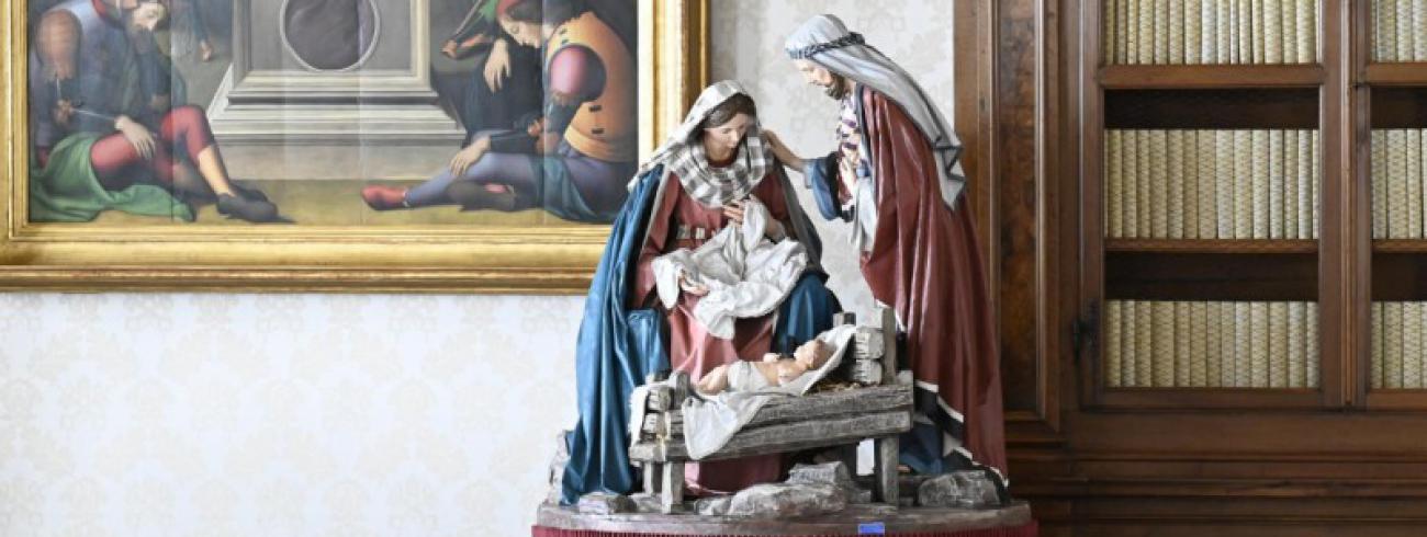 Het gezin stond centraal in de angelustoespraak van de paus © Vatican Media