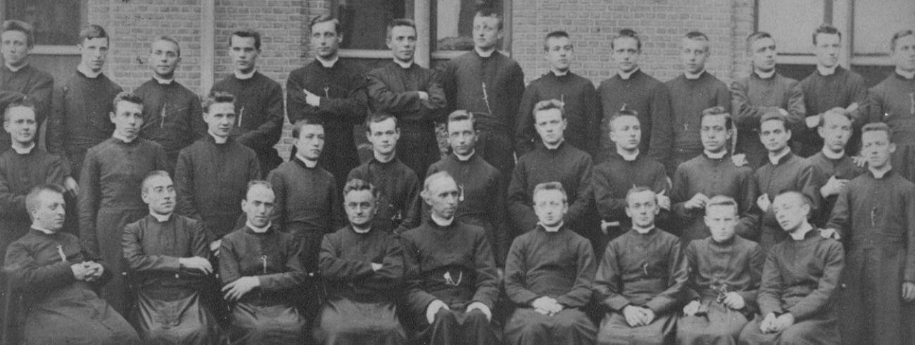 Groepsfoto Leo XIII 1901