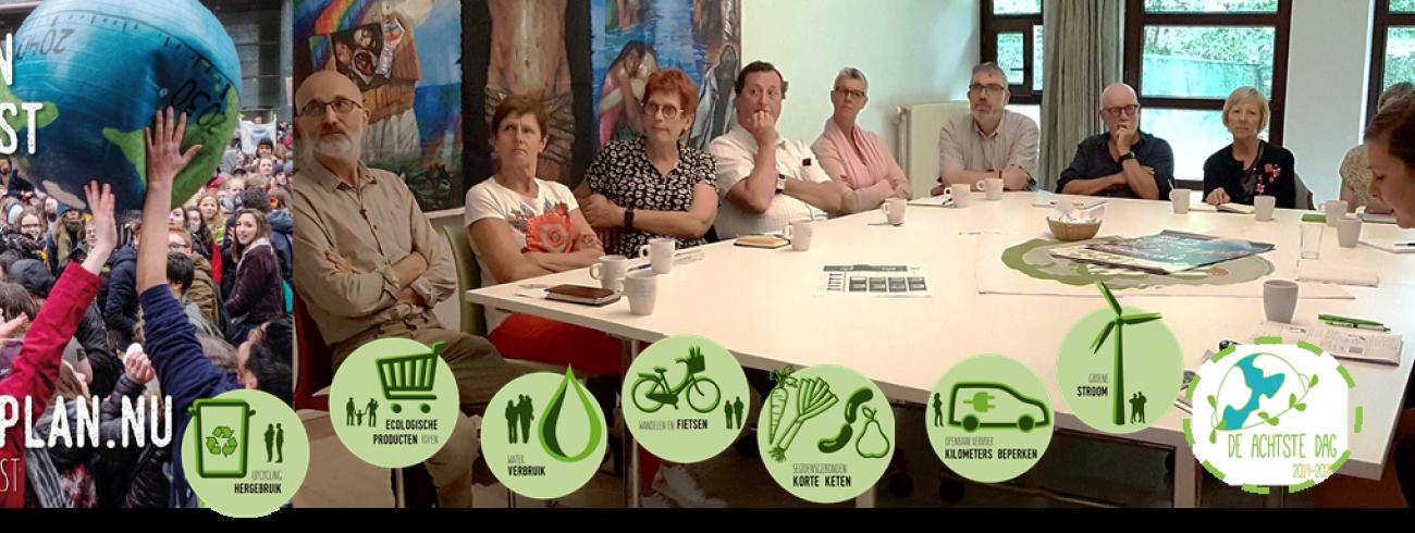 Ecokerk en IJD Antwerpen maken #tijdvoorschepping © rb