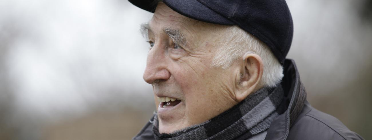 Jean Vanier © John Morrison, Templeton Prize