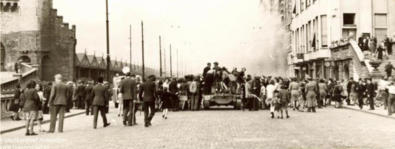 Er vonden verschillende razzia's tegen Antwerpse Joden plaats © Stad Antwerpen