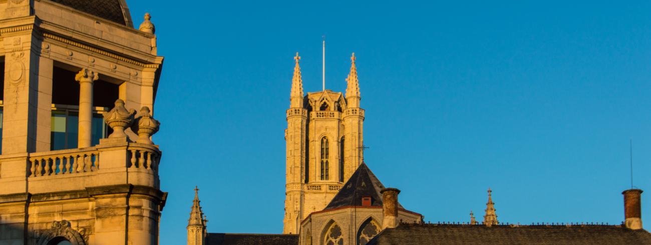 Kathedraaltoren © Bisdom Gent, foto: Karel Van de Voorde