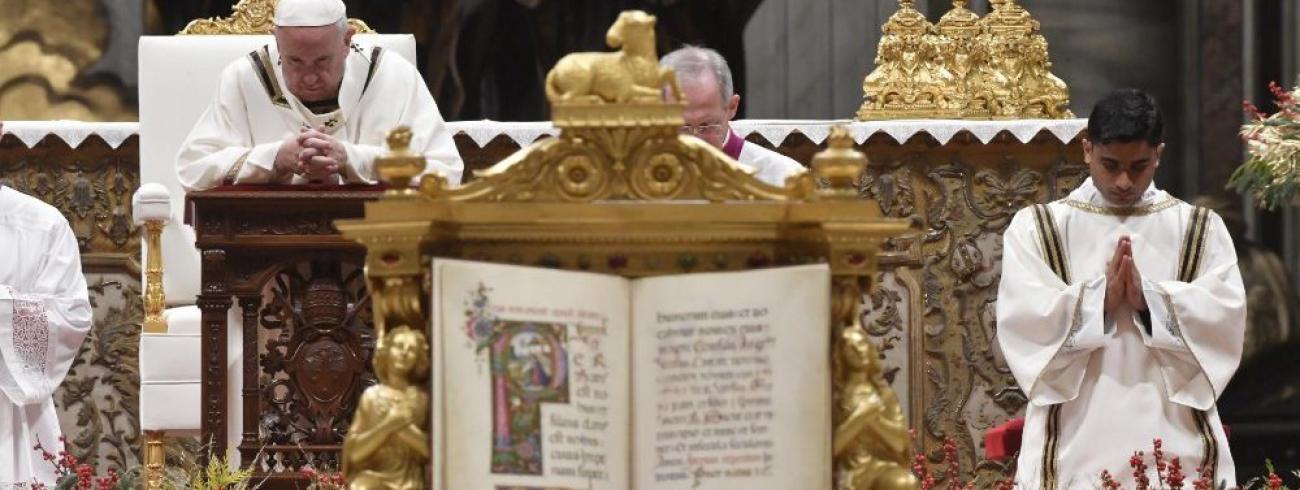 Het Kerstevangelie © Vatican Media