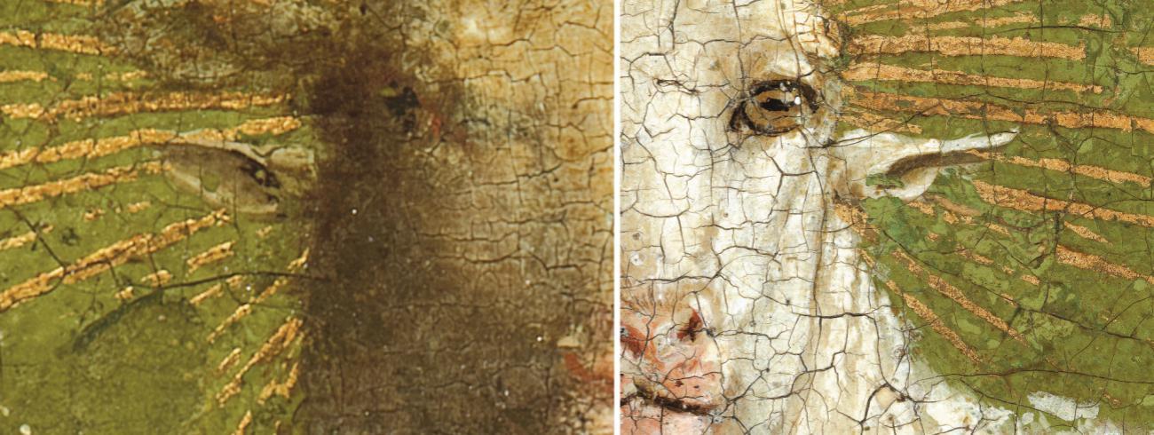 Van Eyck, De Aanbidding van het Lam Gods © Sint-Baafskathedraal Gent, www.lukasweb.be - Art in Flanders Foto's Hugo Maertens, Dominique Provost en KIKIRPA