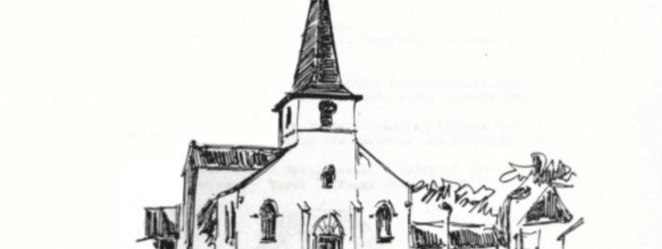 kerk Onze Lieve Vrouw Boodschap Meuzegem