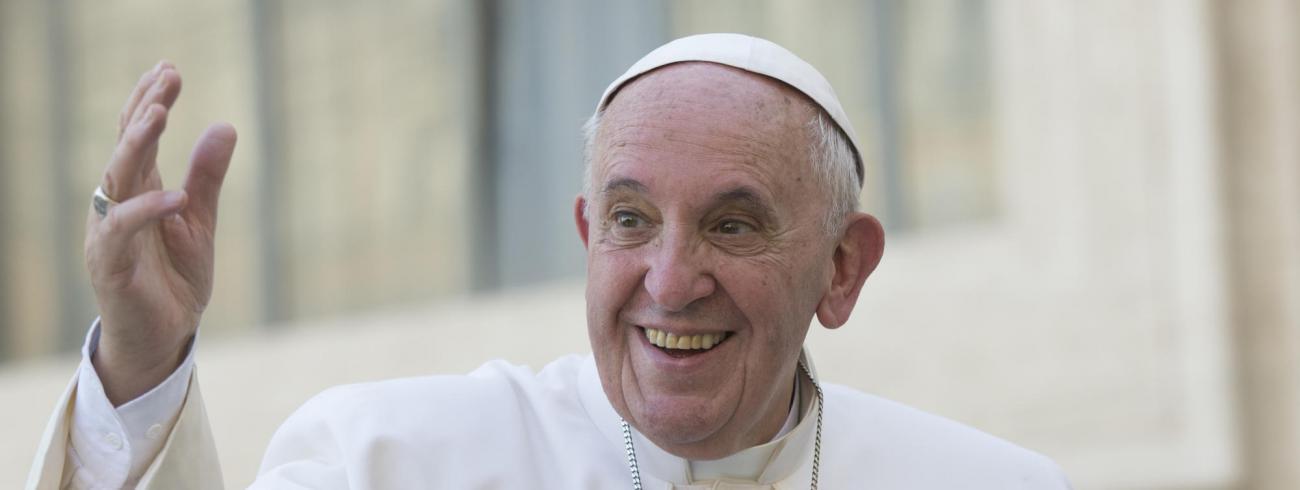 Paus Franciscus © Persdienst Pausbezoek Mexico