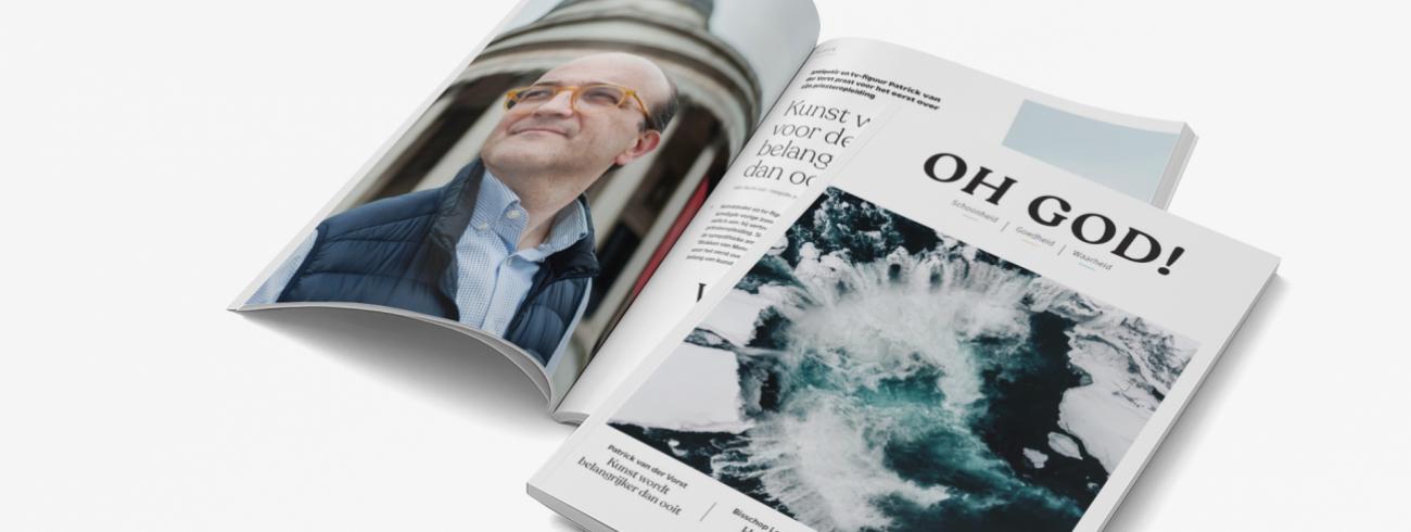 Exclusief in 'Oh God!': een interview met Patrick van der Vorst over zijn priesteropleiding. © Kerknet
