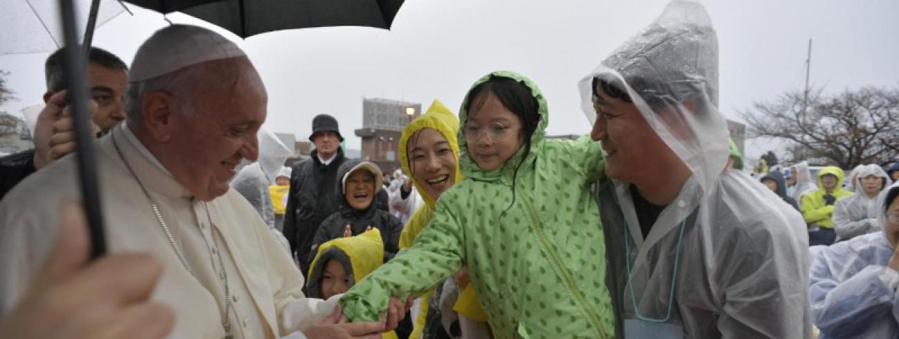 Bezoek aan Nagasaki © Vatican Media
