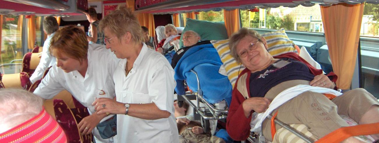 Onderweg naar Lourdes © Lourdesbedevaart Antwerpen