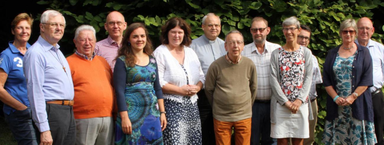 Het pastorale team van de Trudofederatie