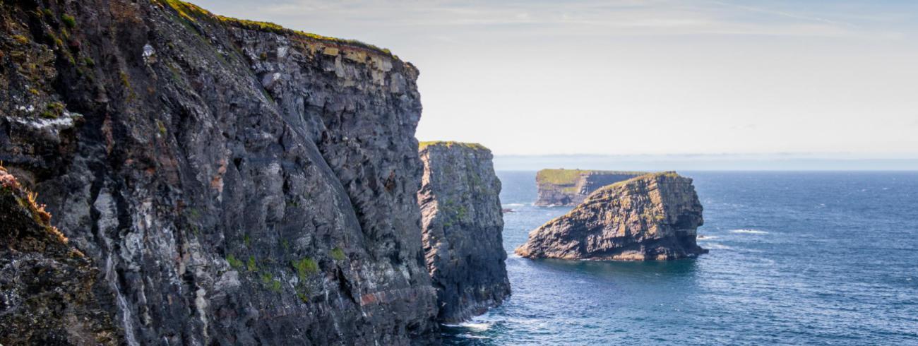 Iers landschap. © Lukas Kloeppel via Pexels