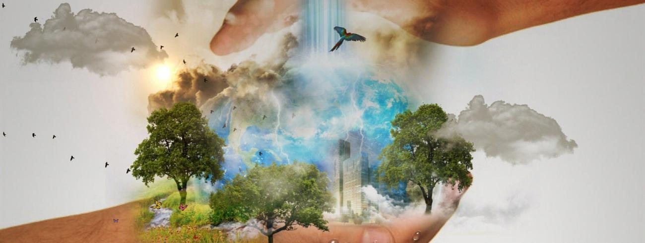 Een wereld die openstaat voor God, waarin solidariteit en de zorg voor anderen voorop staat.  © Mystic Art Design op Pixabay