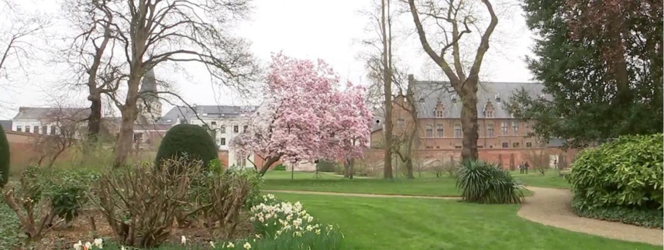 Tuin aartsbisschoppelijk paleis wordt publieke stiltetuin