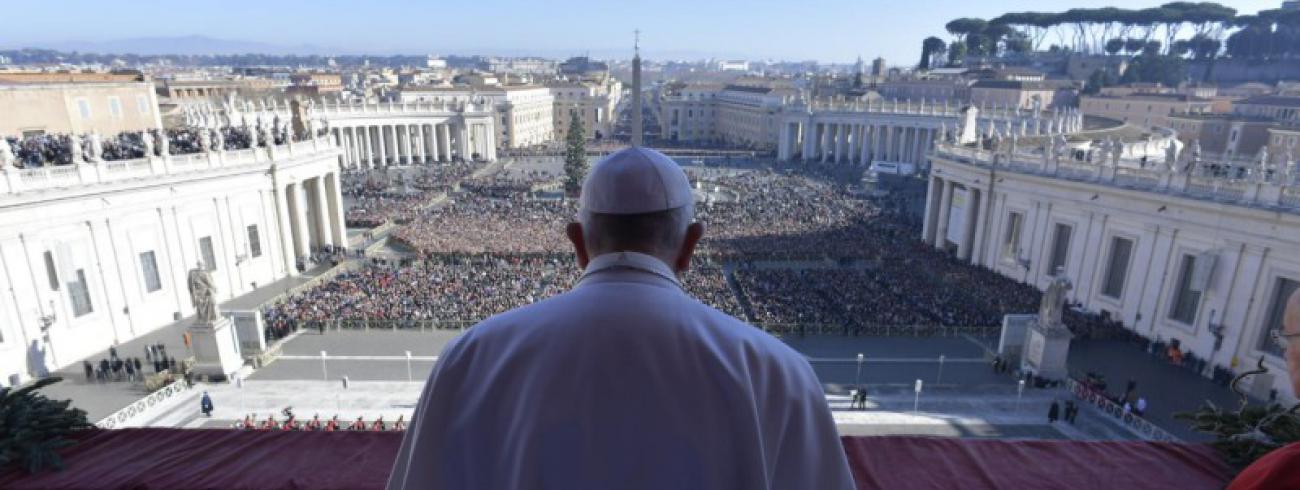 Urbi et orbizegen © Vatican Media