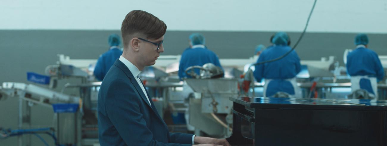 Pianist Vikingur Olafsson. © Website Magnus Leifsson